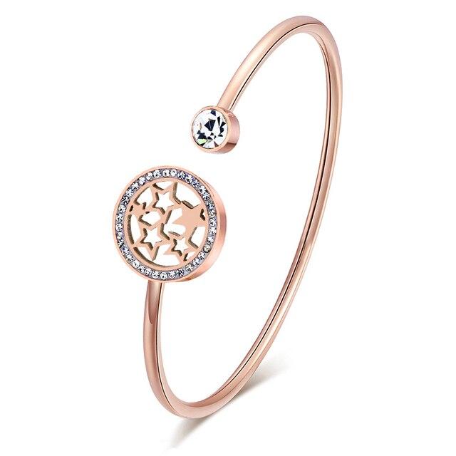 Фото женские браслеты манжеты и обручи из нержавеющей стали цена