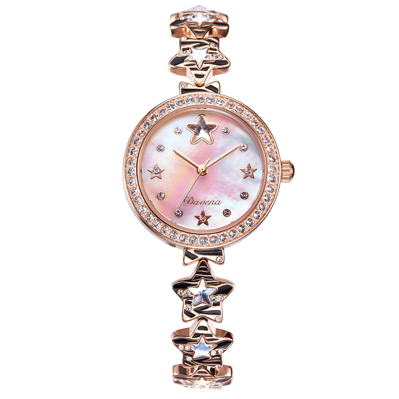 Twinkle Twinkle Little Stars Bracelet Watches Trendy Girls Luxury Crystals Dress Wrist watch Shell Relogio Quartz Montre femme процессор intel xeon e5 2603v2 1 8ghz 10m lga2011 oem