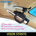 Universal Car Sun Visor Shade Roof Shield Mobile Phone Holder 360 degree Rotating Adjustable Clip Cradle Kit  for iphone