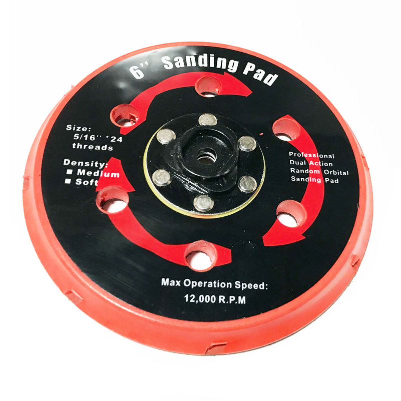 płyta szlifierska podkładka tylnego uchwytu do częściowego - Akcesoria do elektronarzędzi - Zdjęcie 4