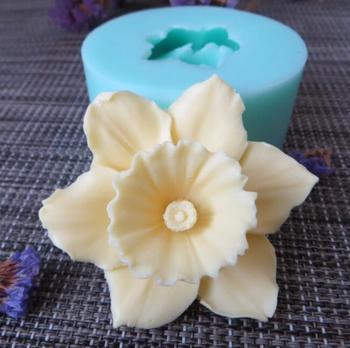 PRZY HC0089 żel krzemionkowy 3D formy kwiaty formy silikonowe do mydła kwiat świeca aromat formy robienie mydła formy glina żywiczna formy tanie i dobre opinie CN (pochodzenie) Ce ue Lfgb Ciasto narzędzia Ekologiczne Z gumy silikonowej