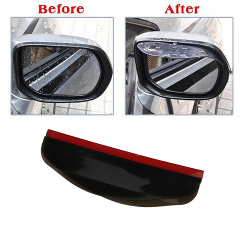 2Pcs/Lot Car Rearview Mirror Rain Eyebrow Visor Shade Shield Water Guard for Car Truck Auto Vehicle Rain Cover
