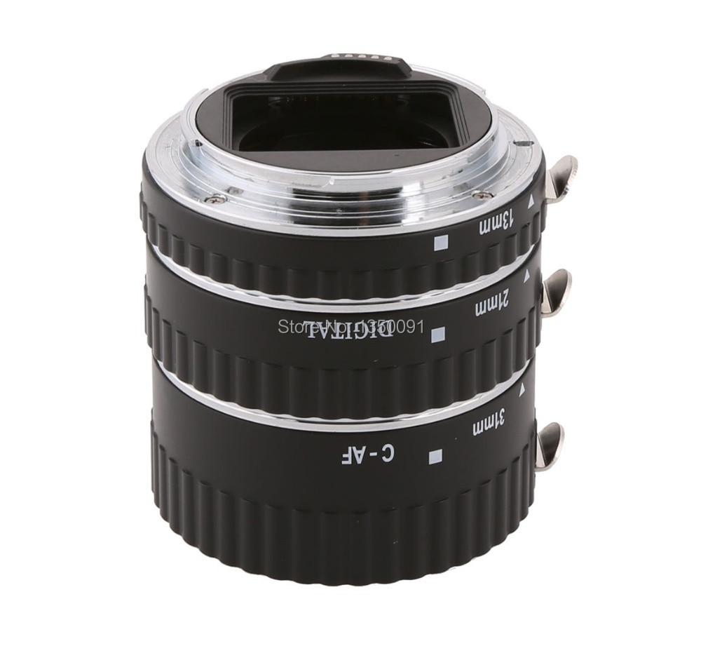Meike C-AF-A Auto Focus Ring Macro Extension Tube pour Canon EOS 60D 7D 6D 50D II 450D 600D 1100D T4i T3i