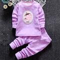 Bebé bebé conjuntos de ropa interior térmica, además de terciopelo niñas Equipamiento Del Hogar espesa Calzoncillos Largos 1-2-3-4 años de edad en invierno
