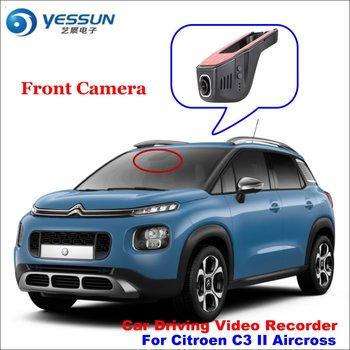 YESSUN Car DVR For Citroen C3 II Aircross Driving Video Recorder  Camera AUTO Rearview Camera Dash CAM   WIFI  Dash Camera