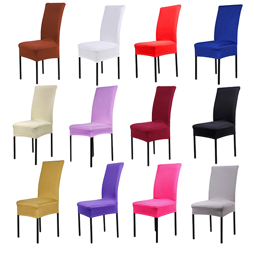 Dining Chair Covers Spandex Stretch Room Protector Slipcover Decor