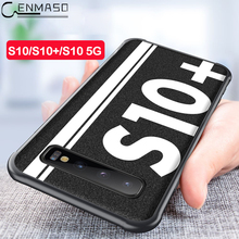 For Samsung S10 Case Original Sports Street Culture Leather Soft Edge Protect Cover for Galaxy Plus S10e 5G