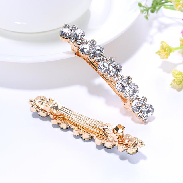 Fashion Crystal Rhinestone Pearl Hairpin 1 PCS
