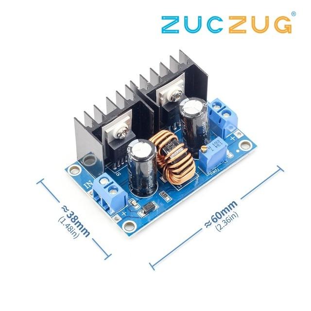 Step-down power supply module DC4-40v to DC1.25-36v 8A 200w adjustable XL4016E1 DC-DC DC voltage regulator buck module