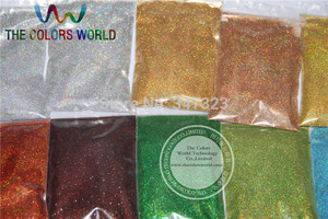 Image 4 - 24 Laser Holographic Colors 0.1MM  fine Glitter Powder for nail decoration and others DIY Accessories