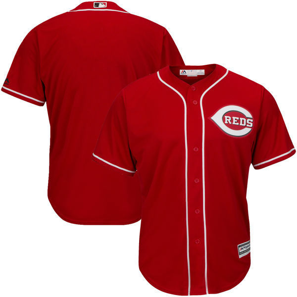 MLB Youth Cincinnati Reds Baseball Scarlet Alternate Cool Base Jersey