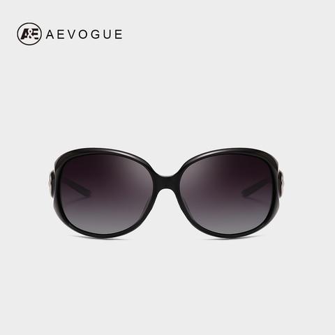 AEVOGUE Polarized Sunglasses Women Oversize Vintage Shield Frame Classic Brand Designer Sun Glasses UV400 AE0691 Pakistan