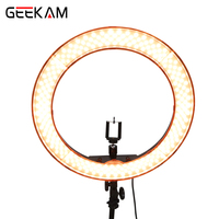 GEEKAM Selfie Ring Light RL 18 55W 5500K 240 LED Ring Light Lamp Studio Video Light