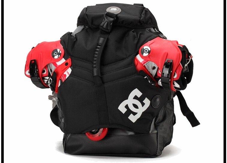 חם! DC Inline Skates Backpack תיק החלקה שקיות - תיקי ספורט