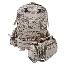 50 L Camouflage backpack Men Military backpack Survival backpack military Big Assault Travel Bag Packsack MB003