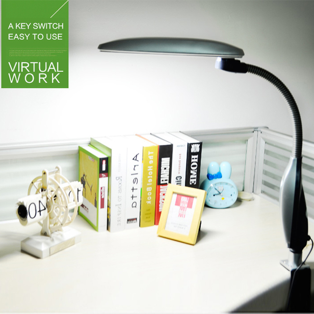 5000 К цветовая температура 220 В-50 Гц напряжение защита глаз свободное вращение СВЕТОДИОДНАЯ лампа ABS бюро освещения 27 вт лампа изюминкой