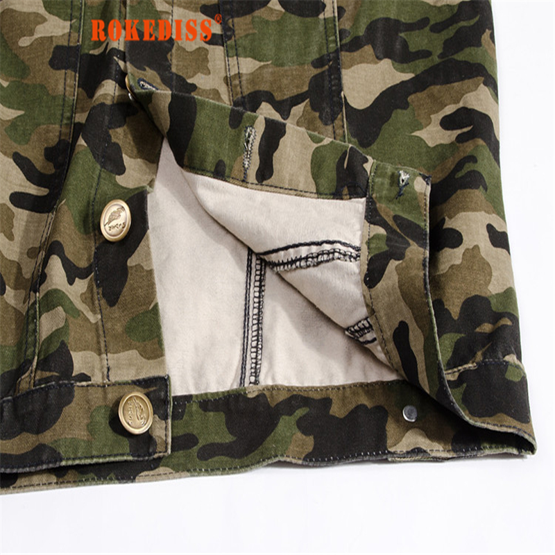 2017 Summer Korean Fashion Camo Denim Vest Slim Fit Camouflage Military Style Casual Jeans Vest For Men Vetement homme G262
