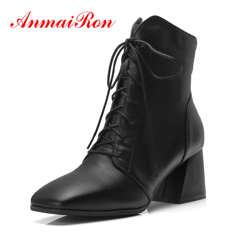 AnmaiRon Booties 2018 Woman zapatos de mujer  womens boots  womens shoes  bella hadid  ankle boots Size 34-42 ZYL1351AnmaiRon Booties 2018 Woman zapatos de mujer  womens boots  womens shoes  bella hadid  ankle boots Size 34-42 ZYL1351