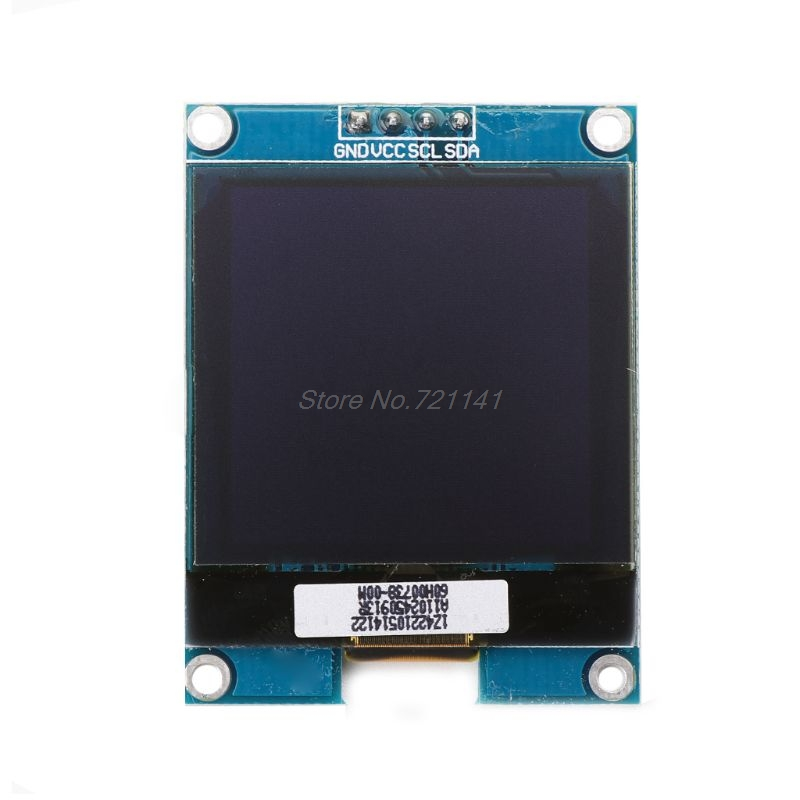 NEW <font><b>1.5</b></font> <font><b>Inch</b></font> 128x128 <font><b>OLED</b></font> Shield Screen Module For Raspberry Pi For STM32 Dropship image