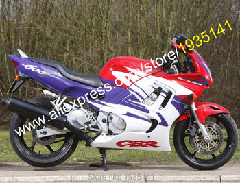 For Honda CBR600 F3 1997-1998 CBR600F3 97-98 CBR 600F3 Purple Red White ABS Motorcycle Fairing (Injection molding)