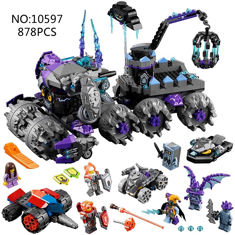2018 NEW 70352 Bela Nexus Knights Building Models sets Jestro's Headquarter compatible action figures knights bricks blocks toys bela nexus knights building blocks toy set lance s mecha horse gifts toys compatible with 70312 knights robotics mindstorm