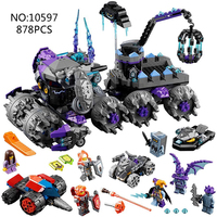 2017 NEW 70352 Bela Nexus Knights Building Models Sets Jestro S Headquarter Compatible Action Figures Knights