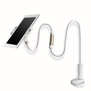"Image 2 - SeenDa ארוך זרוע Tablet Stand מחזיק עבור iPad אוויר מיני M ipad קינדל מתכוונן 4.0 כדי 11 ""שולחן העבודה Tablet stand מיטה מחזיק טלפון"