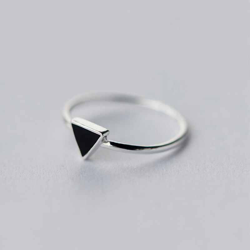 925 Sterling Silver Geometry Triangle Rings for Women Girls Gift Opening Ring Vintage Sterling Silver Jewelry 95172925 Sterling Silver Geometry Triangle Rings for Women Girls Gift Opening Ring Vintage Sterling Silver Jewelry 95172