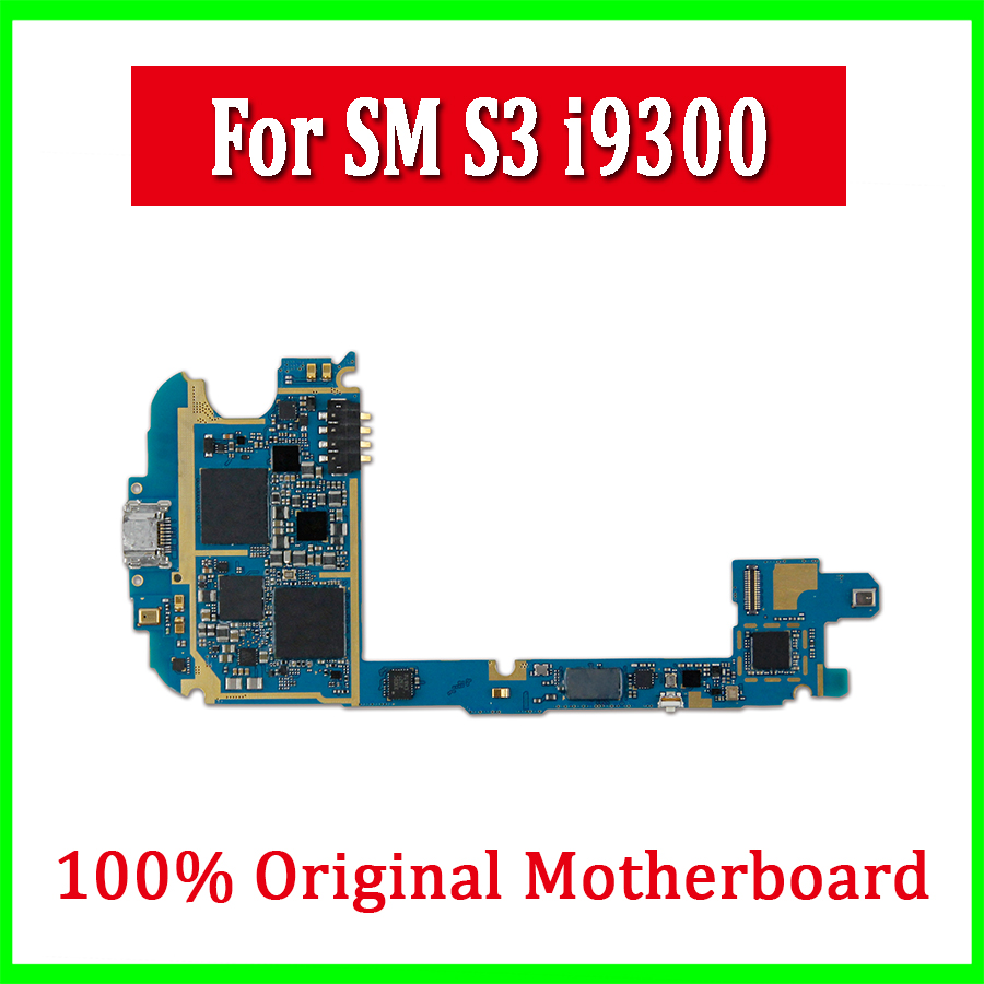 5pcs/Lot Wholesale Logic Boards for samsung S3 I9300 Original unlocked Europe Version for Samsung Galaxy S3 i9300 Motherboard