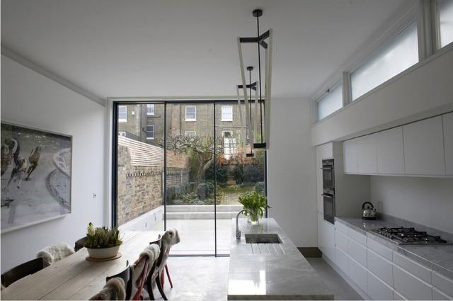 2017 Nuevo diseño contemporáneo gabinetes de cocina de color blanco ...