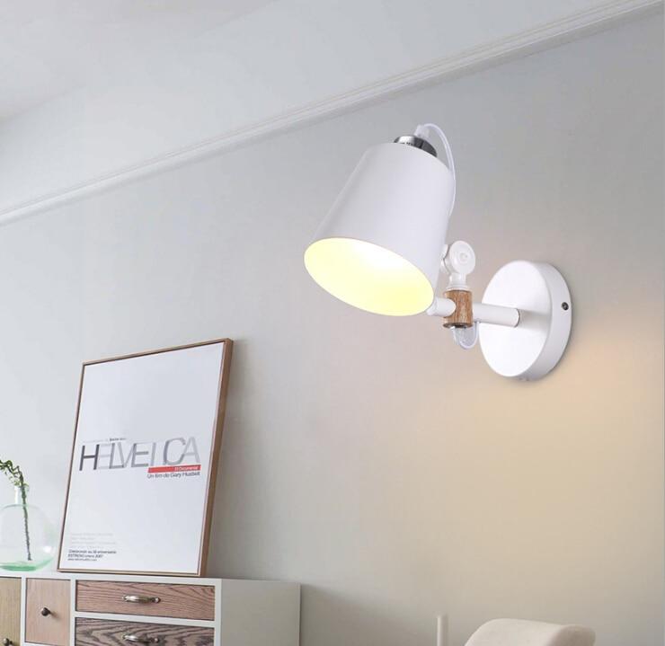 Applique moderne luminaire mural chevet liseuse créative lampe murale salon Foyer éclairage domestique applique rustique