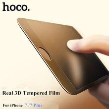НОСО 3D изогнутый край Полное покрытие закаленное стекло для iPhone 7 полный экран закаленное стекло для iPhone 7 Plus с розничной Упаковка