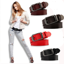 SEDRINUO Hot Sale New Fashion Wide Genuine leather belt woman vintage Cow skin belts women Top
