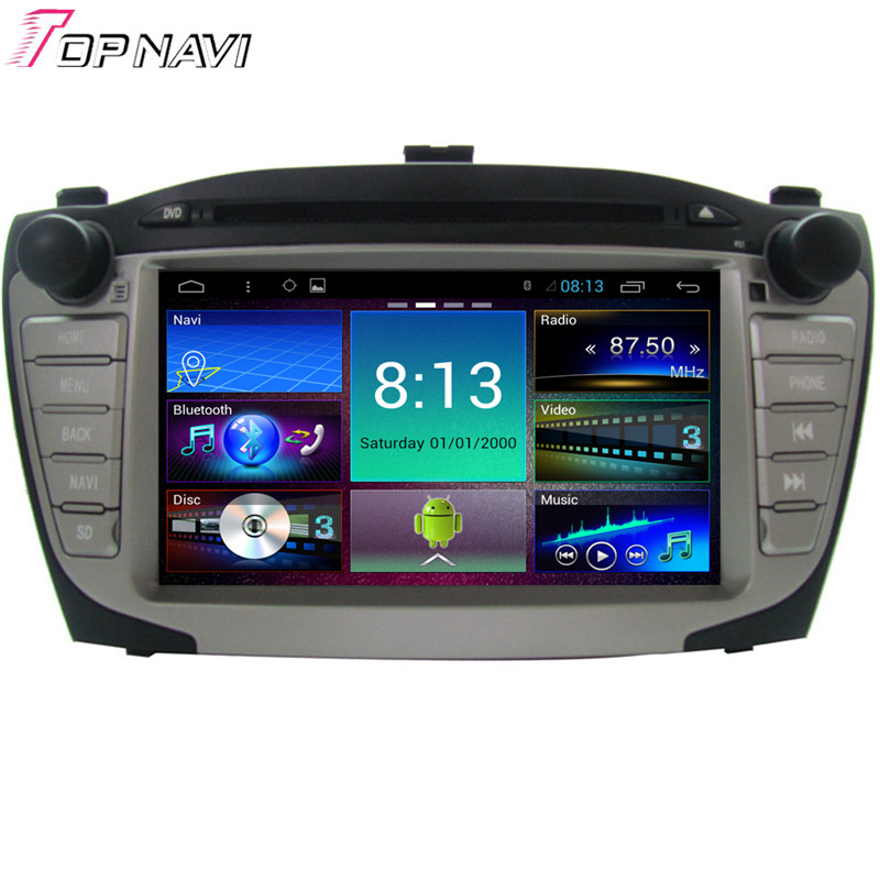 7'' Quad Core Android 4.4 Car GPS For Hyundai IX35 2009 2010 2011 2012 With Mirror Link Radio Audio Stereo Map DVD Free Shipping