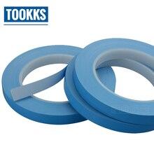 25 м/рулон 10 мм 25 мм 50 мм ширина передачи клейкие ленты Двусторонняя тепла термальность проводящий клей клейкие ленты для чип PCB led…