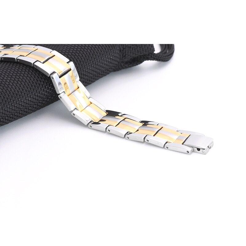 Virnal Fashion Men's Jewelry 2 colores diseño energía pulsera para - Bisutería - foto 3