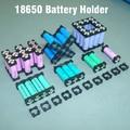 18650 suporte de bateria titular bracket suporte da bateria Cilíndrica 18650 células li-ion Segurança anti vibração 18650 caixa de caixa de plástico