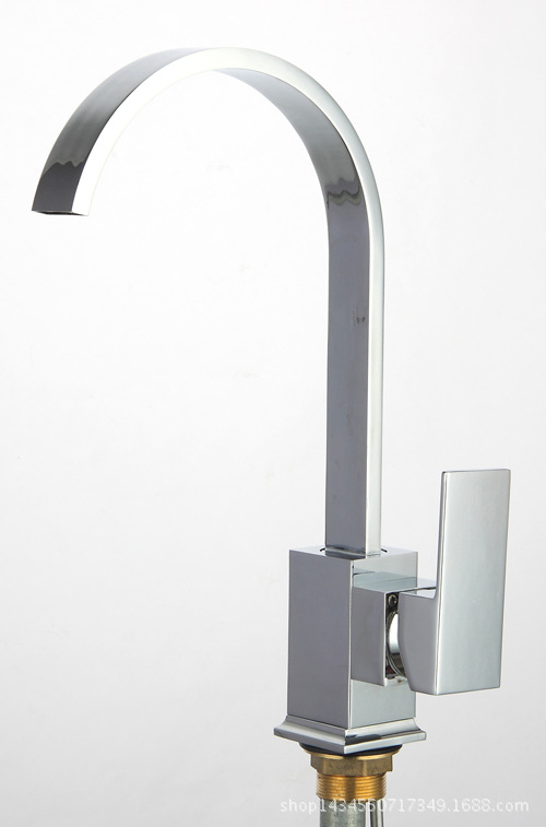 Kitchen faucet full copper high grade kitchen hot and cold faucet