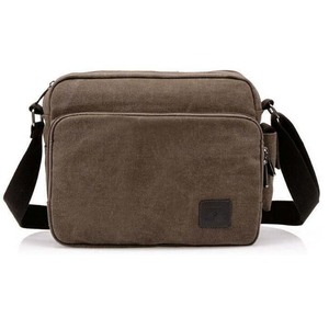 Image 3 - High Quality Multifunction Canvas Bag travel bag men messenger bag brand mens crossbody bag luxury vintage style briefcase w304
