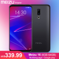 2018 Original Meizu 16 6GB 64GB CN Version Snapdragon 710 6-inch 2160x1080P Front 20MP 3100 mAh In-Screen Fingerprint