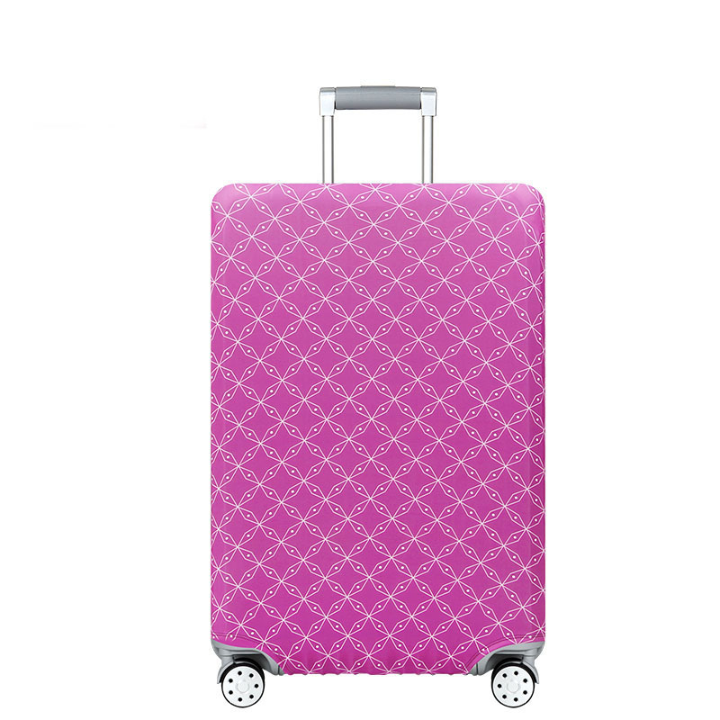 Travel Elastic Luggage Cover Protector Stretch Fabric Zipper Suitcase Protective Covers Travel Accessories Suitcase Case in Travel Accessories from Luggage Bags