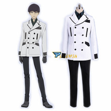 Anime Tokyo Ghoul RE Cosplay Costume Urie kuki  Uniform Adult Outfit Halloween with Gloves