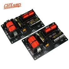 GHXAMP 350W 700W 2 Way Crossover karta audio głośnik wysokotonowy bas zwrotnica częstotliwości do głośnika dla 4 8Ohm głośnik filtr 2800HZ 2 sztuk