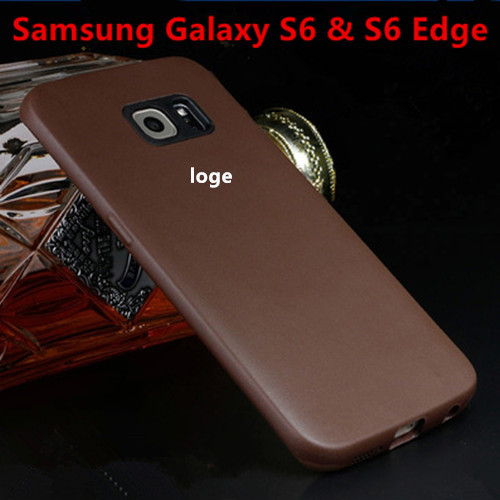 huge discount 773ed 3e453 US $7.0 |Ultra Slim Leather Case For Samsung Galaxy S6 & S6 Edge Official  Style Back Cover For Galaxy G9200 G9250 back cover Cases on Aliexpress.com  | ...