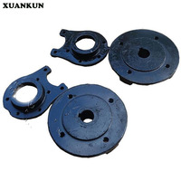 XUANKUN DIY Four - Wheeled Beach Car Accessories Shaft Drive Differential Rear Axle Plate Double - Disc Brakes Hub