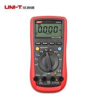 UNI-T UT61A Professional ดิจิตอลมัลติมิเตอร์เครื่องทดสอบ LCD Backlight พร้อมความต้านทาน Capacitance