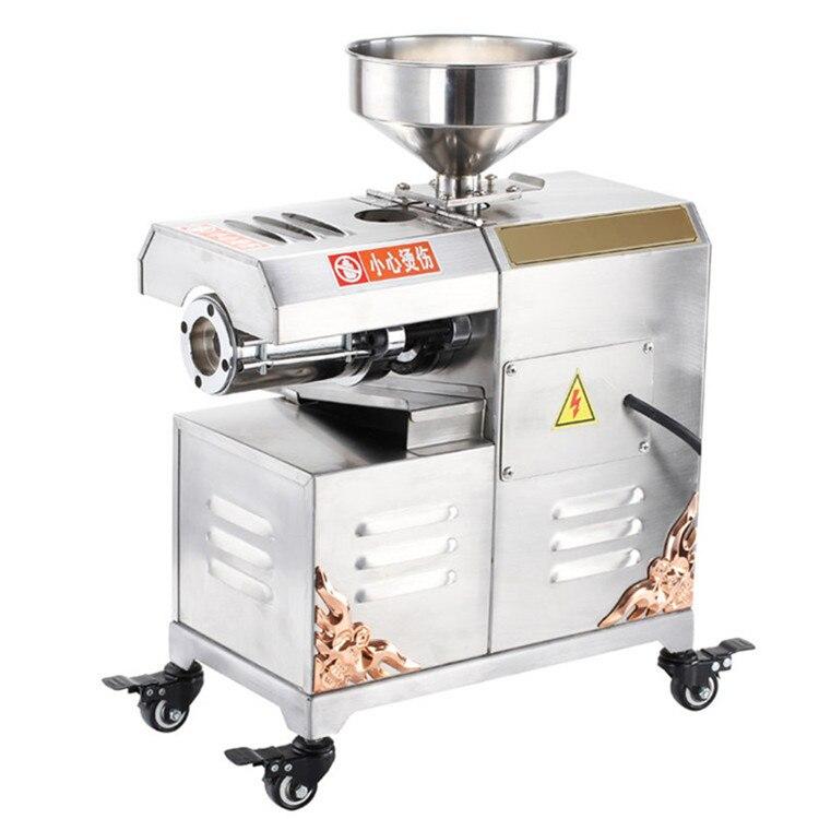 2018 hot sale 220/110V small oil extractor olive press machine cold press oil press rosin machine with CE certification 1 pcs 38 38cm small heat press machine hp230a