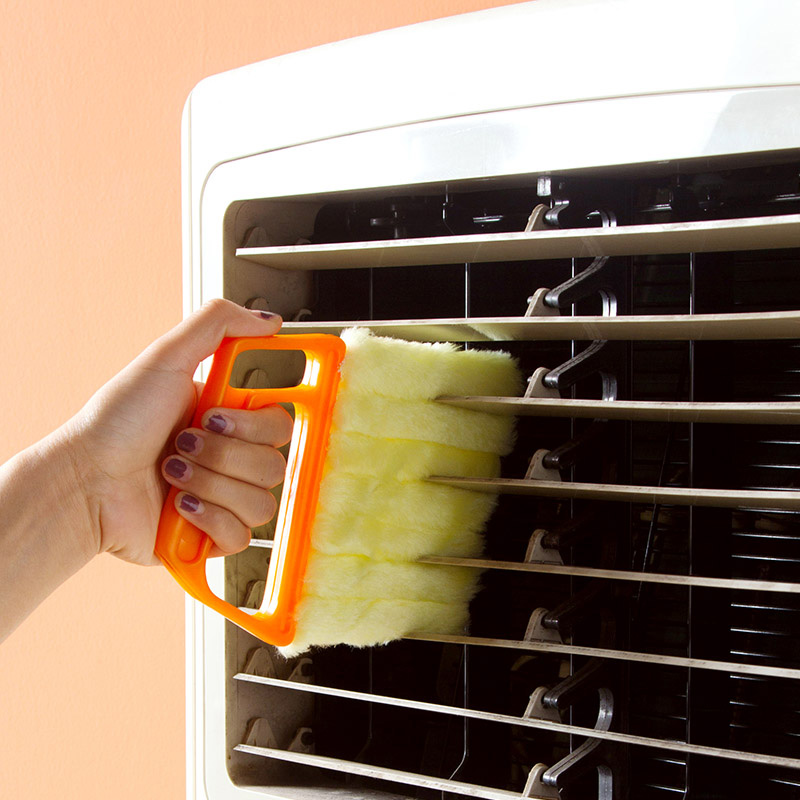 1 Pc Blind Cleaning Brush Window Cleaner Detachable Air Conditioner Duster Toilet Accessories Vents Remove Dust