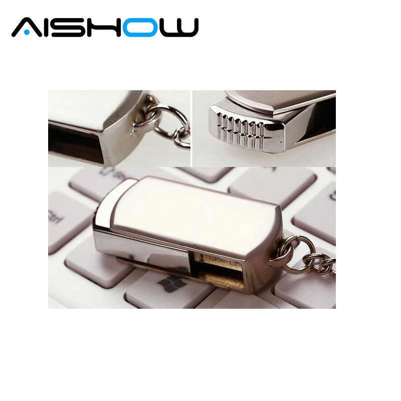 Dysk usb 128MB 1GB 2GB 4GB 8GB 16G 32G dysk usb ze stali nierdzewnej metalowa pamięć usb flash pamięć flash usb pen drive 64gb