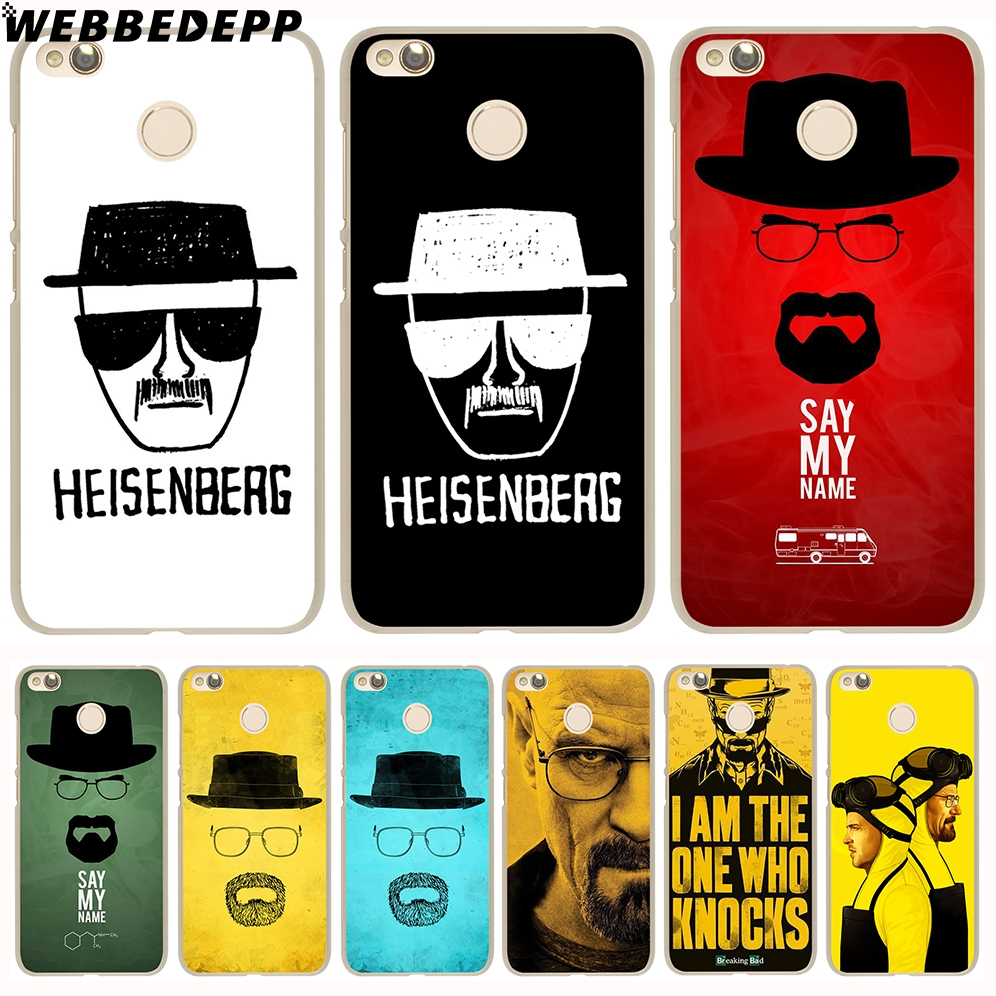 WEBBEDEPP breaking bad Cover Case for Xiaomi Mi6 5S 5X A1 Redmi 4X 4A 5A 5 Plus 4 3 Pro  ...